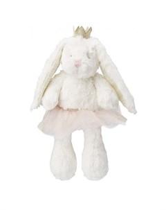 Мягкая игрушка Плюшевый Заяц в юбке Пухоня Happy baby