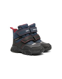 Непромокаемые ботинки на липучке Geox kids