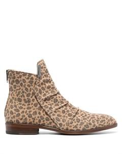 Ботинки с леопардовым принтом Matt moro
