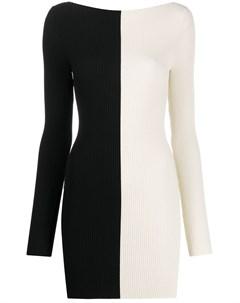 Двухцветное платье Ssheena