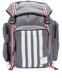 Рюкзак среднего размера с полосками 4 Bar Thom browne