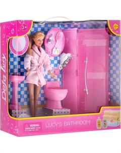 Кукла в ванной комнате Defa