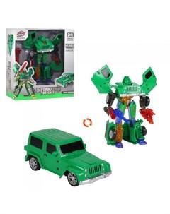 Машинка робот трансформер JB400921 Ziyu toys