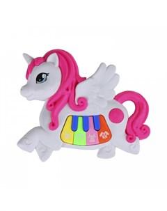 Музыкальный инструмент Пианино обучающее Единорог Smart baby