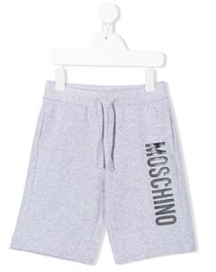Спортивные шорты с логотипом Moschino kids
