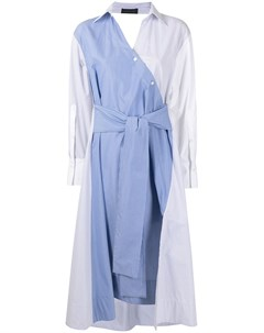 Платье рубашка со вставками Eudon choi