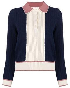 Рубашка поло Fully Fashioned в стиле колор блок Ports 1961