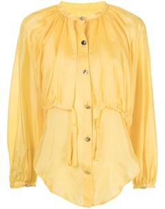 Блузка с длинными рукавами и завязками Eudon choi