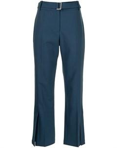 Укороченные брюки с поясом Eudon choi