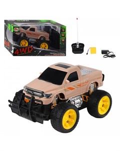Машина монстр трак радиоуправляемая 4 канала Xiang hui toys
