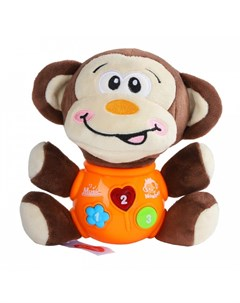 Мягкая игрушка развивающая Обезьяна Smart baby