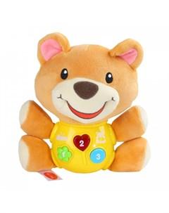 Мягкая игрушка развивающая Мишка Smart baby