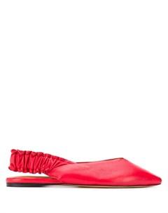 Балетки с заостренным носком Isabel marant