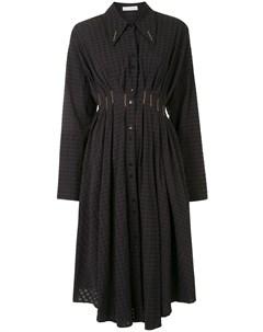 Платье рубашка Escen длины миди с вышивкой Palmer / harding