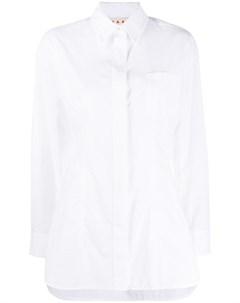 Рубашка строгого кроя Marni