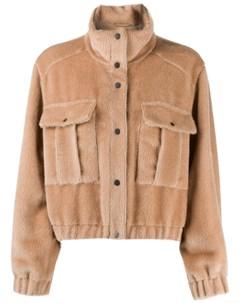 Флисовая куртка Brunello cucinelli