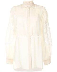 Рубашка с цветочным кружевом Cynthia rowley