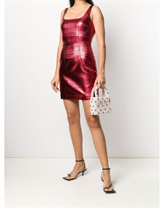 Короткое облегающее платье De la vali