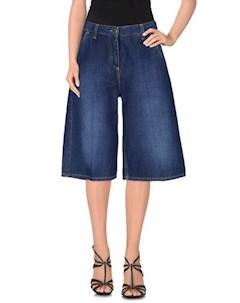 Джинсовые бермуды Elisabetta franchi jeans