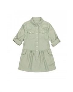 Платье рубашка с длинным рукавом хаки Mothercare