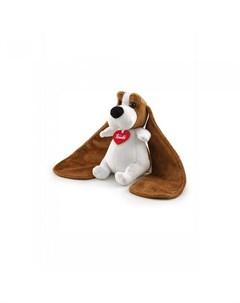 Мягкая игрушка Бассет хаунд ушастик в почтовом ящике Love boх Trudi