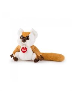 Мягкая игрушка Рыжий лемур 15 см Trudi