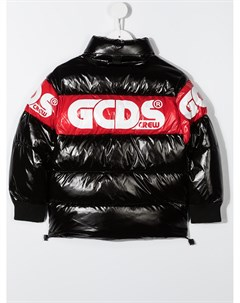 Пуховик с логотипом Gcds kids