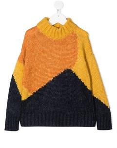 Джемпер в стиле колор блок Tiny cottons