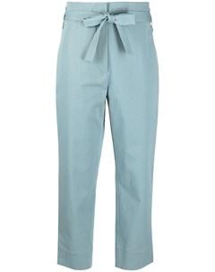 Укороченные брюки с завязками Odeeh
