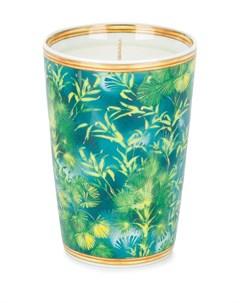 Ароматическая свеча в подсвечнике с цветочным принтом Versace home
