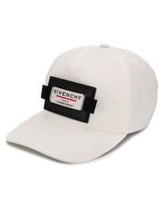 Бейсбольная кепка с нашивкой логотипом Givenchy