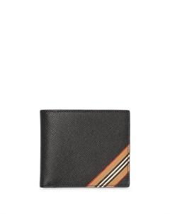Бумажник в полоску Icon Stripe Burberry