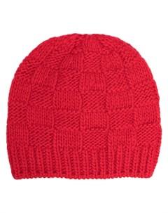 Вязаная шапка бини в клетку Bottega veneta