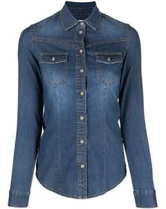 Джинсовая рубашка с длинными рукавами Bazar deluxe