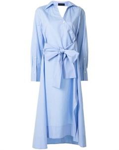 Платье рубашка с завязками Eudon choi