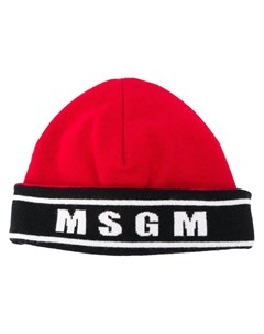 Шапка бини с логотипом Msgm