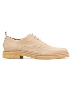 Туфли дерби на креповой подошве Ami paris