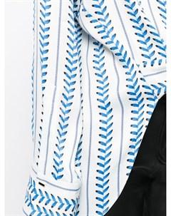 Блузка Erin с завязками Hellessy