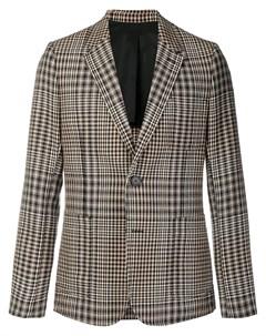 Пиджак на двух пуговицах с частичной подкладкой Ami paris