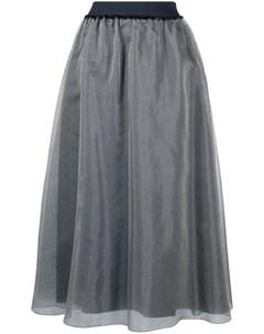 Многослойная юбка из тюля Luisa cerano