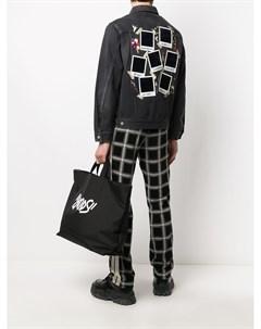 Джинсовая куртка Flashback с принтом Doublet