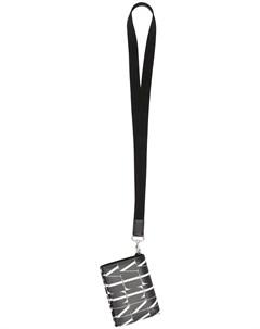 Кошелек с ремешком на шею и логотипом VLTN Valentino garavani