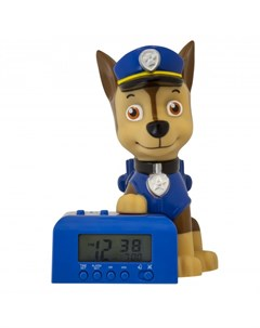Часы будильник BulbBotz минифигура Chase высота 15 24 см Щенячий патруль (paw patrol)
