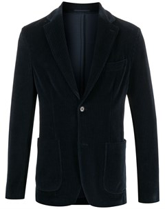 Вельветовый однобортный пиджак Seventy