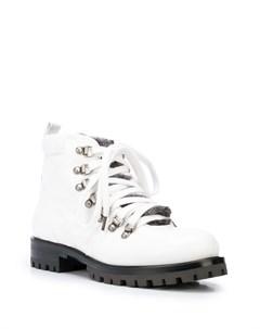 Ботинки с отделкой из искусственного меха Chuckies new york