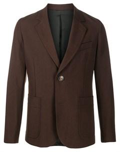 Однобортный пиджак Ami paris