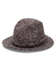 Шляпа федора с узором Dolce&gabbana
