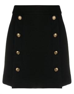 Юбка с застежкой на пуговицах Givenchy