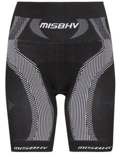 Облегающие спортивные шорты с завышенной талией Misbhv