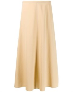 Саржевая юбка миди Forte forte